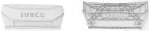 4_renders_of_3D_models_iveco_plastic_parts